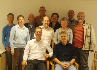 Gründungsmitglieder der Ölberg eG